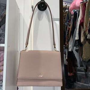 Kate Spade Blush Pink Shoulder/Clutch Bag